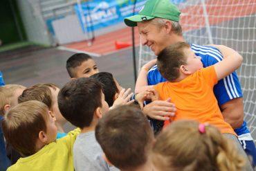 """1300 begeisterte Kinder beim Schülersporttag """"Mach mit. Werde fit."""""""
