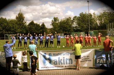 Jubiläumsfest zum 20. Geburtstag der Fußballschule Fair Play 2017