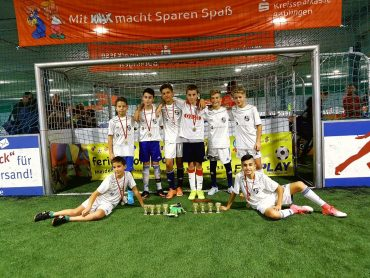 DFB U15 Nationalspieler Eliot Bujupi beim Einzeltraining Fair Play