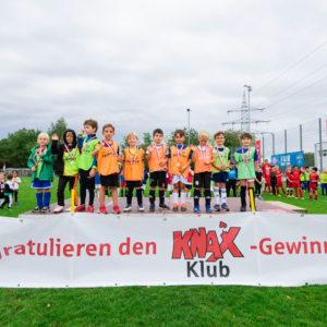 Ein Fußballfest, das Kinderherzen höher schlagen lässt